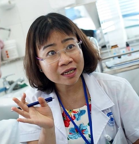 Photo of Dr Chau from Vietnam